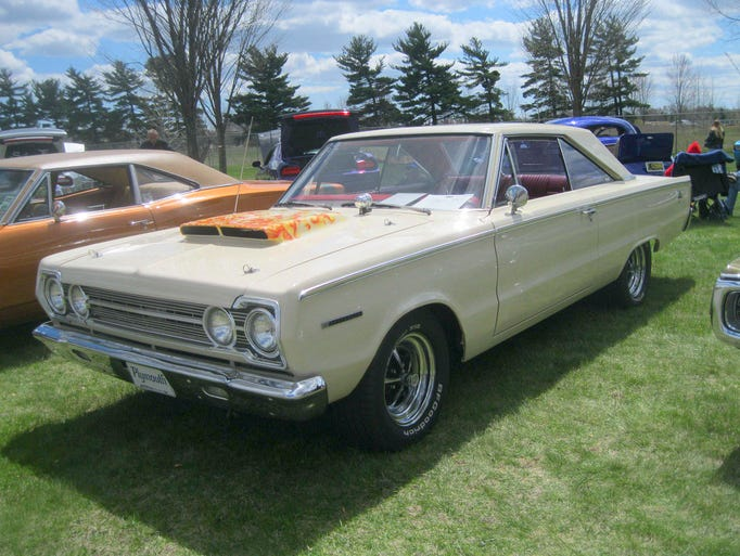 From a distance, this 1967 Plymouth Belvedere II belonging