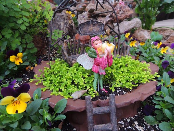 Fairy gardens aren't just for children. They bridge