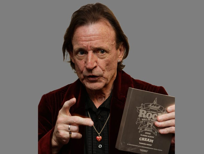 Musician Jack Bruce, best known as the bassist from