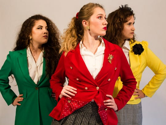 The Heathers are played by Chloe Tsai, Athena Kelley