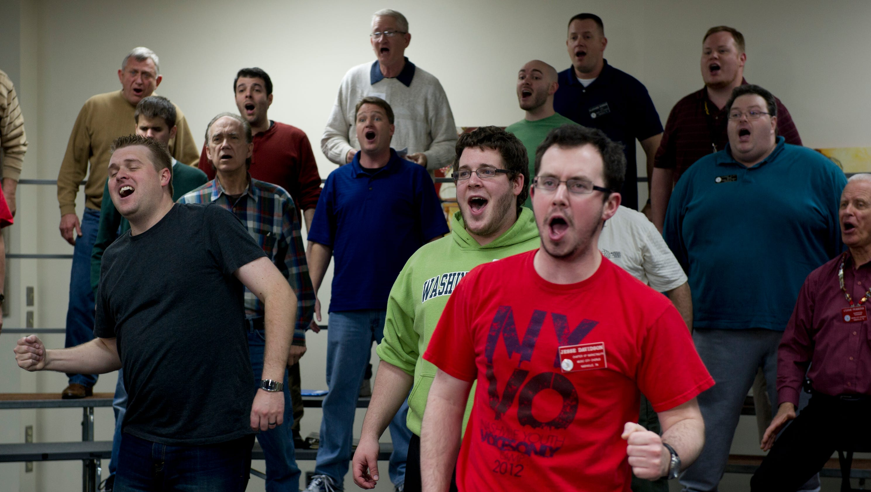 Barbershop Music : Barbershop music takes over Nashville this summer