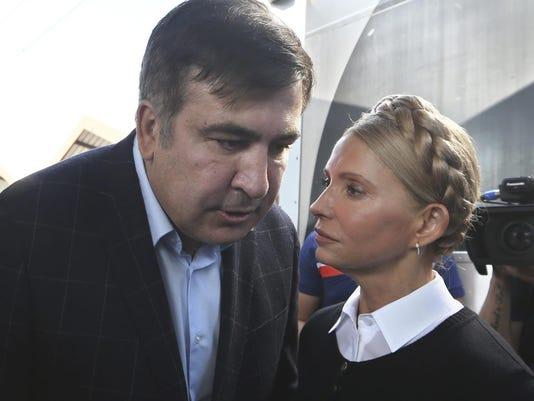 Mikheil Shaakashvili,Yulia Tymoshenko