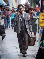 "Denzel Washington stars in ""Roman J. Israel Esq."""