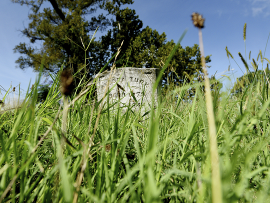 The graveyard at St. Luke Baptist Church has been adopted