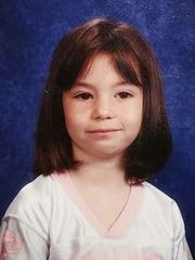 Sabrina (then) Busch in grade school.
