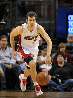 Goran Dragic will stay with the Heat.