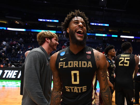 Mar 18, 2018; Nashville, TN, USA; Florida State Seminoles