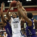 JSU guard Raeford Worsham (10) scored 17 points in the Tigers' 72-64 loss to Alcorn State.
