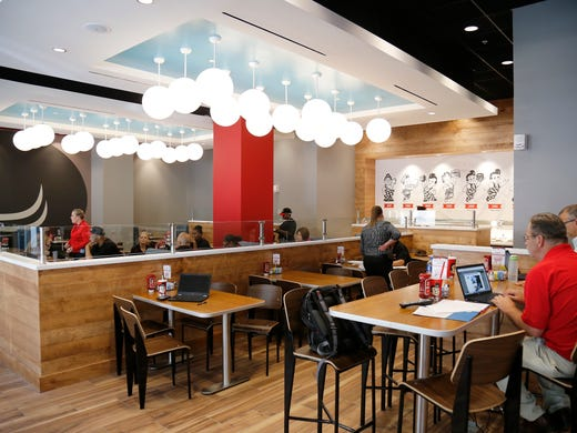 The Main Dining Area At New Frisch S Boy Location
