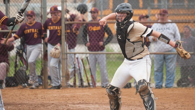 Catcher Chris Beck and the Deptford Spartans will face Highland in the Group 3 final Friday.