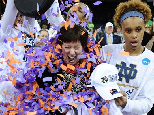 USP NCAA WOMENS BASKETBALL: NCAA TOURNAMENT-SPOKAN S BKW USA WA