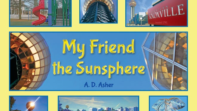 """My Friend the Sunsphere"" is Danielle ""A.D."" Asher's first children's book."