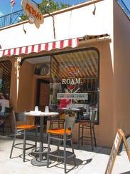 Roam Café, 260 Park Ave., is one of the restaurants