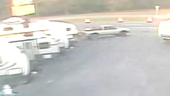 Police are looking for this truck which they believe was involved in a burglary north of Frederica.