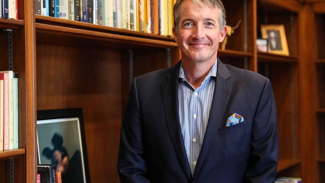 University of Texas President Jay Hartzell has been at UT for nearly two decades, most recently as the dean of the McCombs School of Business. He will make nearly 25% more as president than his predecessor.