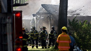Firefighters put out Labor Day blaze in Paramus
