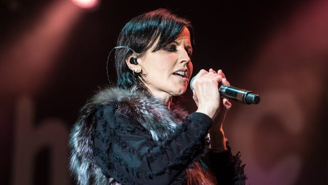 Police report they are not viewing the passing of  Cranberries singer Dolores O'Riordan, in concert last May, as suspicious.