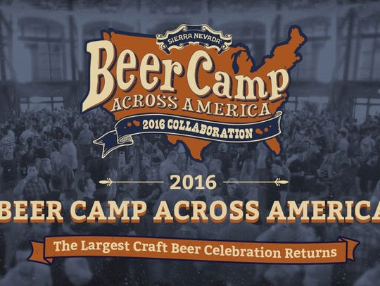 Beer Camp Across America offers 12 beers, representing