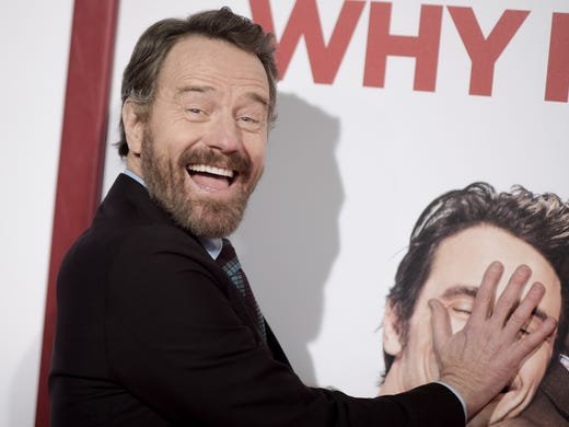 why him stars bryan cranston james franco have tips for meeting
