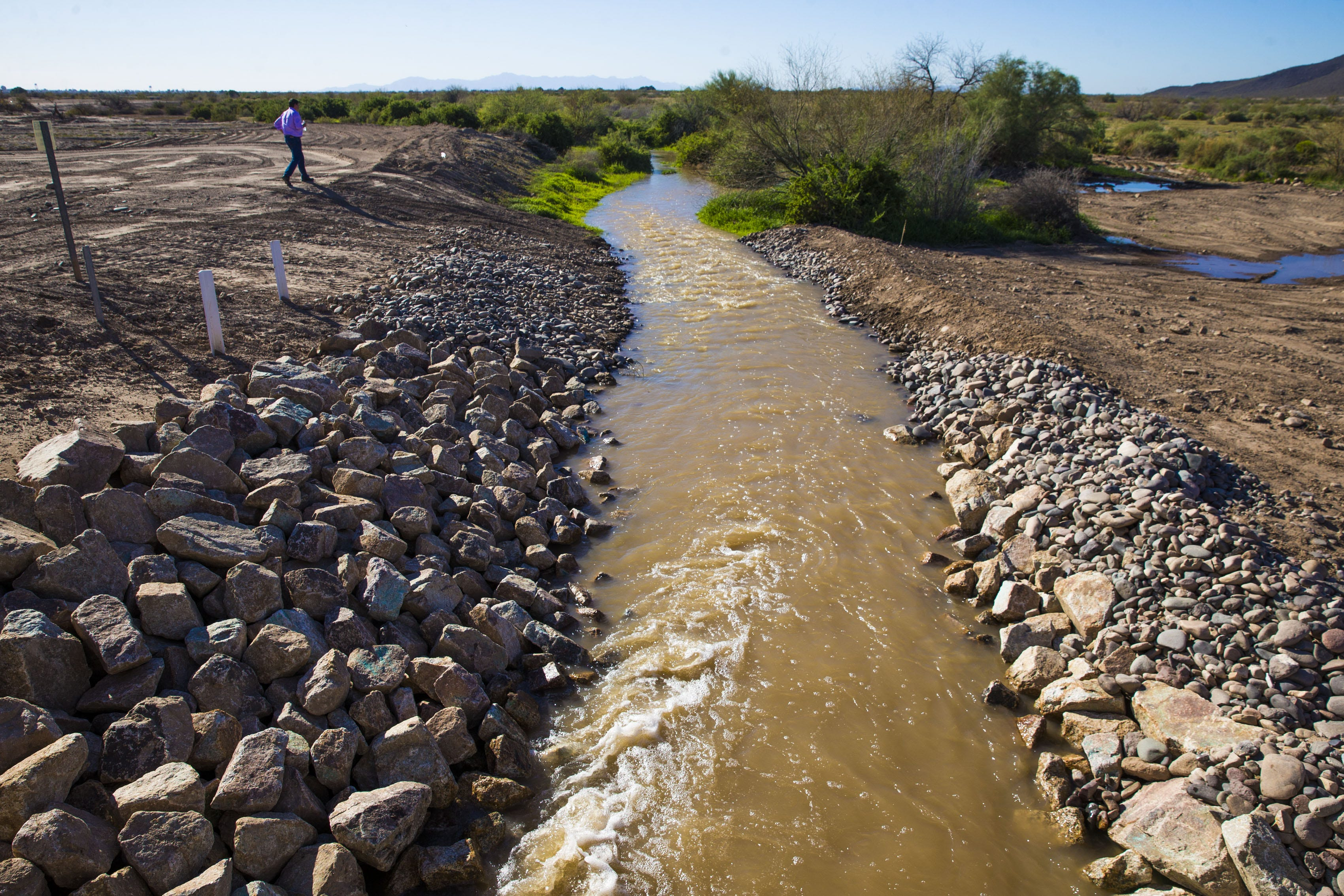 Gila River Indian Community Agrees To Water Storage Deal With Phoenix That  Will Restore Flow To Gila River