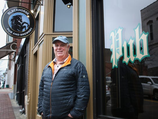 Jeff Robinson is the owner of Blackhorse Pub & Brewery.