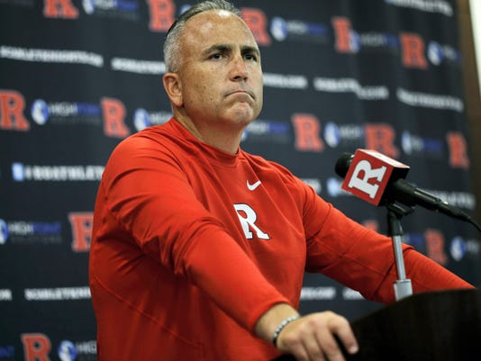 Rutgers head coach Kyle Flood has been suspended for three games after he contacted a faculty member over a player's status. Rutgers President Robert Barchi announced the punishment Wednesday, a day after he said he received an internal investigative report.