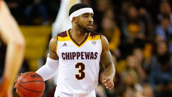 Central Michigan's Marcus Keene leads the country in
