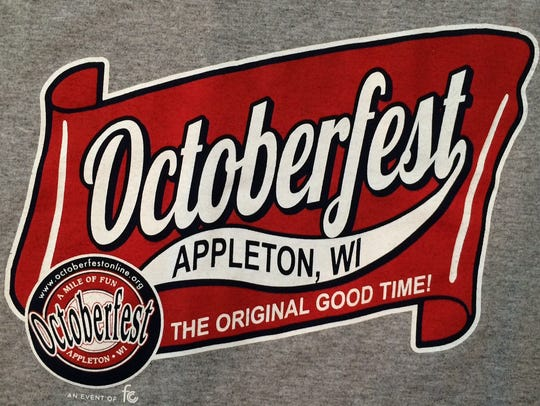 New Octoberfest T-shirts and hoodies have a logo that