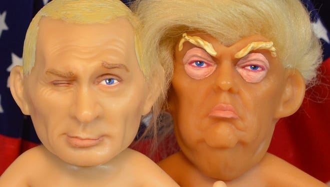 Chuck Williams' sculpture depicting President Donald Trump as a troll is the most funded Kickstarter campaign in Wisconsin. Now, he's raising funds for a doll of Russian President Vladimir Putin.