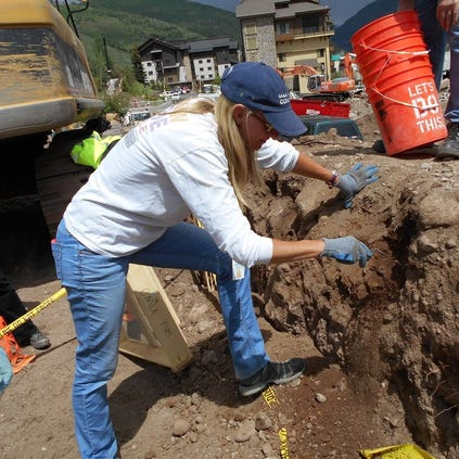 The recovery effort at a nearly 200-year-old burial site in Vail/Eagle.