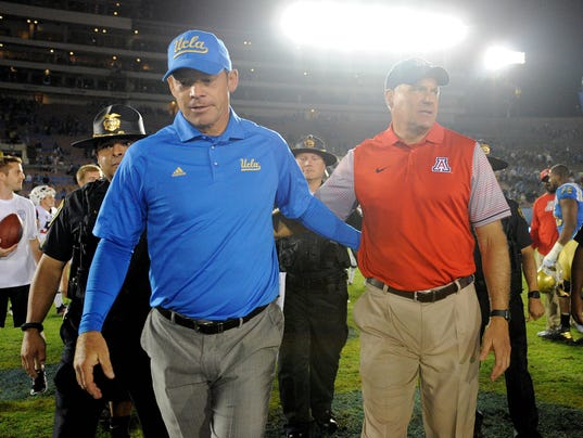 NCAA Football: Arizona at UCLA