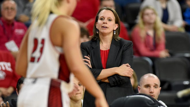 Dawn Plitzuweit is hoping more depth means more intensity for South Dakota women's basketball team in 2017-18