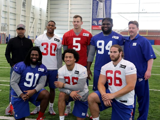 New York Giants Rookie Camp.