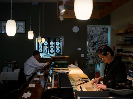 "Katsumi Yamauchi is head sushi chef at Sushi De Kanpai on The Plaza in downtown Salisbury. With the job comes educating diners on the meaning of ""sushi"" and its many variations. ""Most American people know it all as sushi,"" Yamauchi says. ""It is very popular. A lot of people eat sushi rolls."""