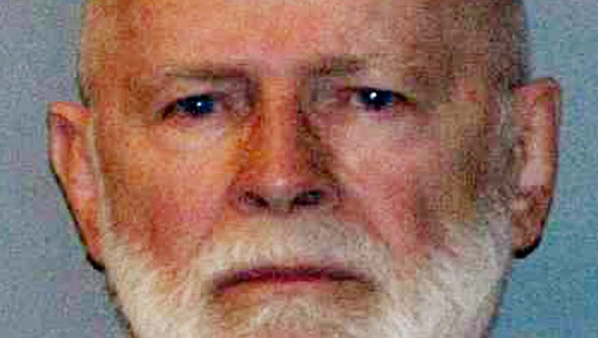 """This June 23, 2011, booking photo provided by the U.S. Marshals Service shows James """"Whitey"""" Bulger, captured in Santa Monica, Calif., after 16 years on the run."""