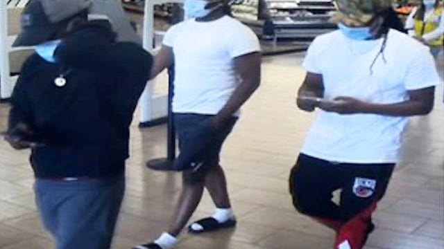 According to a report from the Maury County Sheriff's Department, three men used a credit card stolen from a local car to make a purchases at Walmarts in Hendersonville and Maddison.