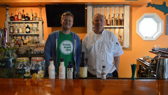 Father-and-son duo, Jeff and Tom Treacy, recently opened Dewey Beach Club on Route 1 in Dewey Beach.