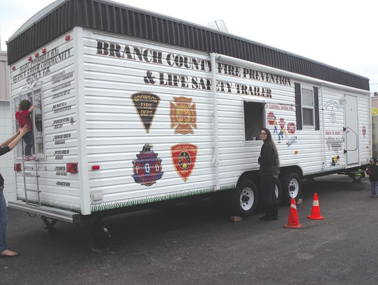 The Branch County Fire Prevention and Life Safety Trailer