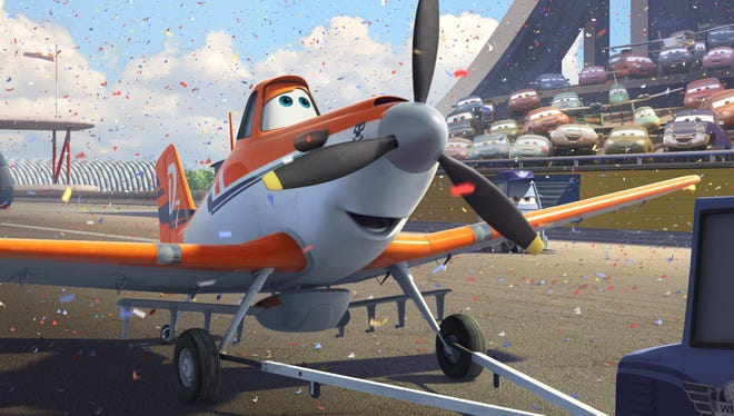 Dane Cook voices Dusty, a crop-duster with dreams of being a racer, in 'Planes.'