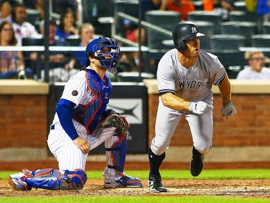 New York Yankees center fielder Brett Gardner (11)