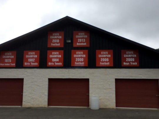 When visitors arrive at Riverheads, they know that the football team has had some success over the years.