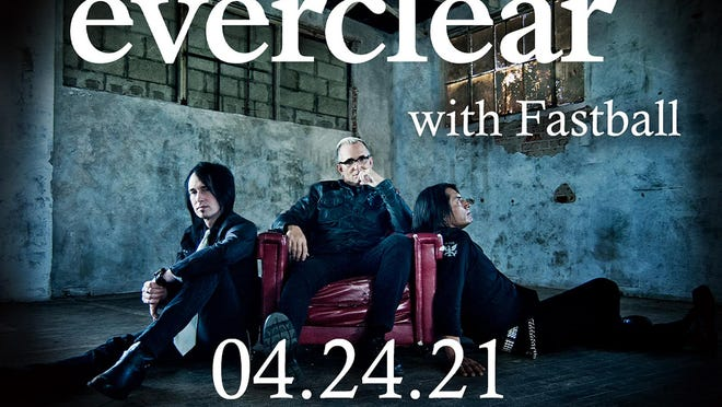 Everclear with performance by Fastball has been rescheduled to April 24, 2021, at United Wireless Arena. The show is set to start at 7:30 p.m.