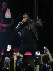 Big K.R.I.T. performs to a sold-out crowd on his current tour.