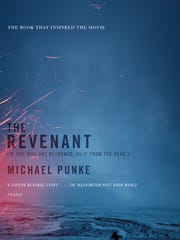 The movie tie-in edition of 'The Revenant.'