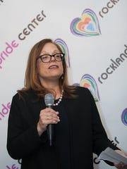 Jennifer Hatch, president of the Rockland Pride Center's