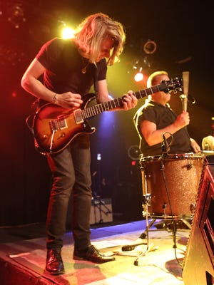 Cowboy Mouth performs at Vinyl Music Hall Friday night.