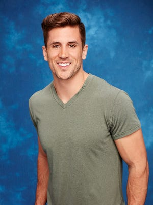 """Jordan Rodgers, younger brother of Packers quarterback Aaron Rodgers, is one of 26 contestants on Season 12 of """"The Bachelorette,"""" which premieres Monday."""