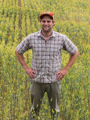 Asher Wright has been named as Farm Manager at Warren Wilson College