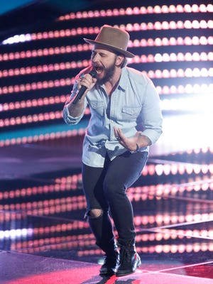 "Lane Mack of Lafayette was eliminated from ""The Voice"" Tuesday."