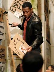 Jonathan Majors plays Ken Jones, an African-American